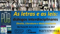 EVENTO: Diálogos Interdiciplinares: As Letras e as leis