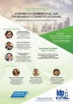 Seminário de Direito Ambiental na Faculdade de Direito do Instituto de Direito Público de São Paulo (IDP)