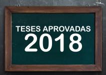 Teses Aprovadas 2018