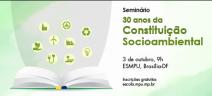 30 anos da Constituição Socioambiental