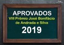 Vencedores do VIII Prêmio José Bonifácio de Andrada e Silva