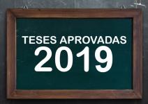 TESES Aprovadas - 2019