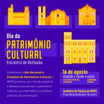 DIA DO PATRIMÔNIO CULTURAL: ENCONTRO DE REFLEXÃO